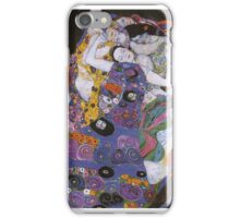 Gustav Klimt - The Virgin 1913 iPhone Case/Skin