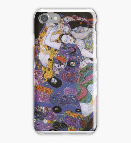 Gustav Klimt - The Virgin 1913 iPhone Case/Skin