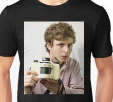 michael cera holding a camera  Unisex T-Shirt
