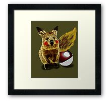 I CHOOSE YOU!! Framed Print
