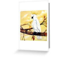 WHO GOES THERE? Greeting Card