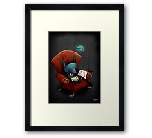 Fish Soup Framed Print