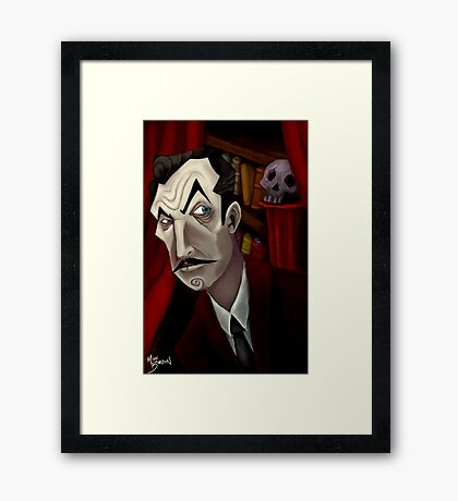 Mr. Vincent Price Framed Print
