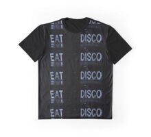 EAT DISCO Graphic T-Shirt