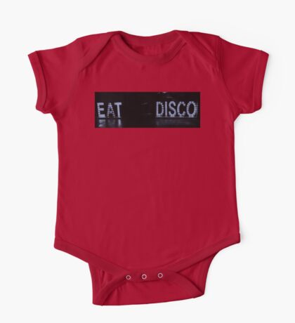 EAT DISCO One Piece - Short Sleeve