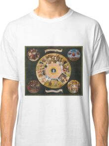 Hieronymus Bosch - The Seven Deadly Sins And The Four Last Things 1485 Classic T-Shirt