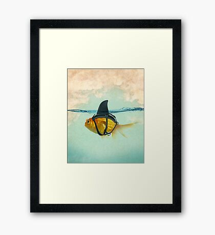 brilient disguise Framed Print