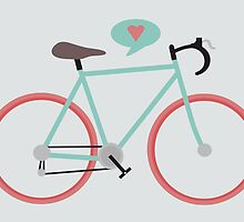 I love cycling by KarinBijlsma
