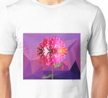 Violet flower Unisex T-Shirt