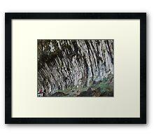 Utah Canyon Realistic Abstract  Framed Print