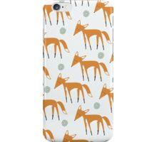 Foxy Pattern iPhone Case/Skin