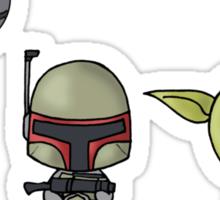 Chibi Wars Sticker