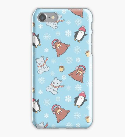 Cute Winter Pattern  iPhone Case/Skin