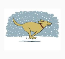 Snow Dog Holiday - Yellow Lab Kids Clothes