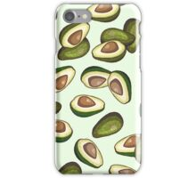 avocado pattern iPhone Case/Skin