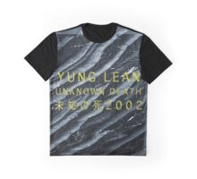 Yung Lean Unknown Death 2002 Graphic T-Shirt