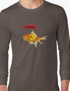 fish umbrellas Long Sleeve T-Shirt