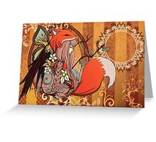 One with Nature Greeting Card