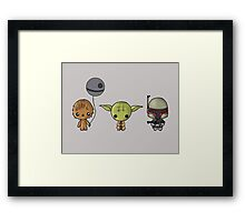 Chibi Wars Framed Print