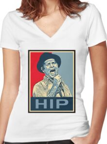gord downie Women's Fitted V-Neck T-Shirt