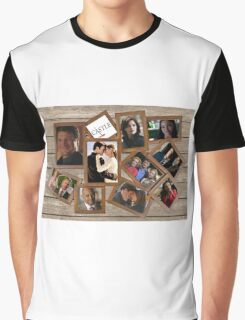 Castle collage frame Graphic T-Shirt
