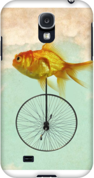 unicycle goldfish by vinpez