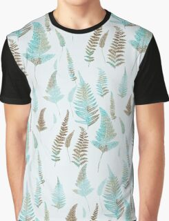 The turquoise foliage Graphic T-Shirt