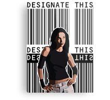 Designate This (Dark Angel) Metal Print