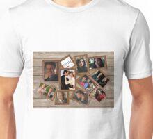 Castle collage frame Unisex T-Shirt