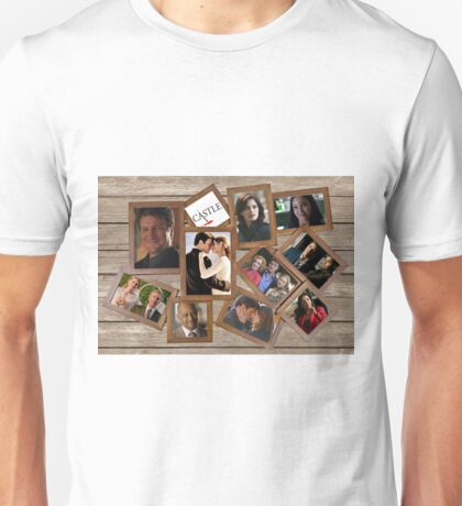 Castle collage frame Unisex T-Shirt