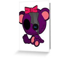 Sassy Secrete Bear Greeting Card