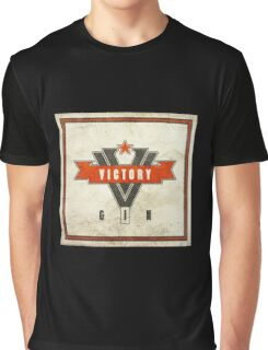 1984 Orwell Victory Gin Graphic T-Shirt