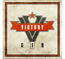 1984 Orwell Victory Gin Photographic Print