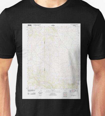 USGS TOPO Map Arizona AZ Blye Canyon SE 20111109 TM Unisex T-Shirt
