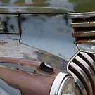 Old Truck Metal Abstract  by clizzio