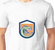 Rattle Snake Head Shield Cartoon Unisex T-Shirt