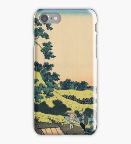 Hokusai Katsushika - Sundai, Edo iPhone Case/Skin