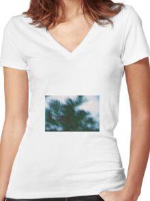 Fake Plastic Trees Women's Fitted V-Neck T-Shirt