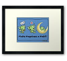 Love Dragon  Framed Print