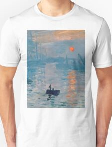 Claude Monet - Impression Sunrise 1872 Unisex T-Shirt