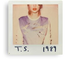 1989 Taylor Swift Canvas Print