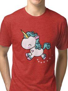 Prancing Unicorn Tri-blend T-Shirt