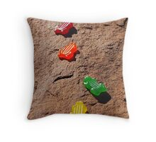 'Bush Tucker' Throw Pillow