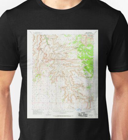 USGS TOPO Map Arizona AZ Supai 315083 1962 62500 Unisex T-Shirt