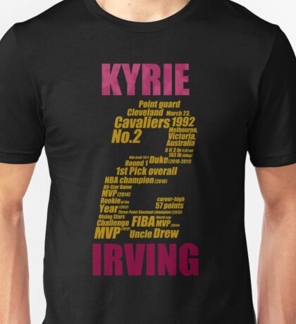 kyrie 2 collage kyrie irving Unisex T-Shirt