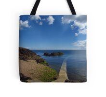 Crystal Clear Sea, Gorey, Jersey Tote Bag