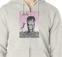 Pieces Zipped Hoodie