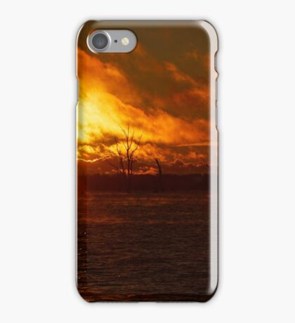 Lake Mulwalla, Yarrawonga, Vic iPhone Case/Skin