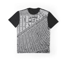 Beverly Hills, wireframe Graphic T-Shirt