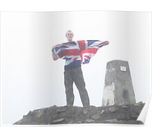 A Proud Moment; Ben Nevis Summit Poster